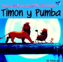 timon y pumba Photopack (: by MicaEdiitions