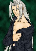 Sephiroth by Tyrana-Knight