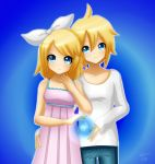 Rin and Len : Music is light by LadyGalatee