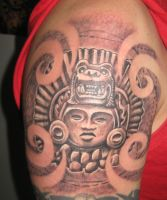 Incan Sun God by catbones