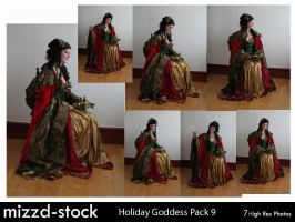Holiday Goddess Pack 9 by mizzd-stock