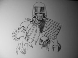 Judge Death wip by 12jack12