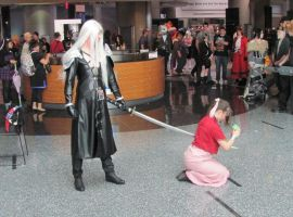 Aerith vs Sephiroth Take 4 by smithers456