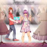 Shopping Day by JeyraBlue