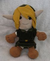 Link plushie by Spring-the-Rabbit