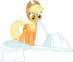 AJ Chewing On A Blanket by EMedina13