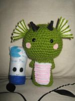 Little Dragon Amigurumi by CataCata23