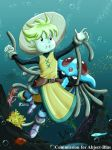 COM : Yellow and Tentacruel ADVANCE COLOR by whiteguardian