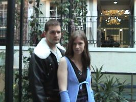 Setsucon '08-Squall and Rinoa by TwilightUnicorn