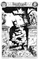 Batman Cemetery Commission by LostonWallace