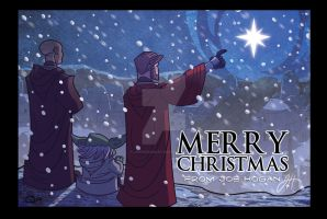 X-Mas Card 2010 - 3 Wise Men by JoeHoganArt