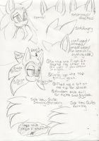 .:Sonic Ear And Quill Reference Sheet:. by AzureDreamrealm