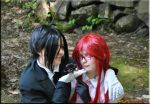 Sebastian and Grell by AniCosOfficial