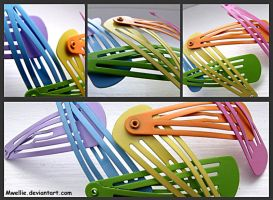 Hair Clips by Mwellie