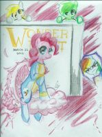 WONDER BOLT: PINKIE PIE by EPICBLUEFACE22