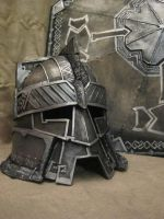 Moria battle helmet by Quellart