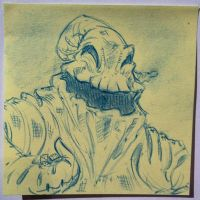 Halloween Post It Day 21 by DanSchoening