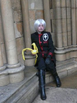 Allen waiting for his Yu by NorthEast-Cosplayers