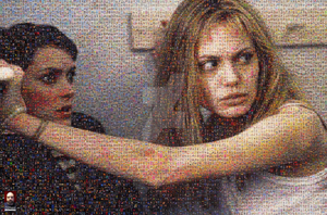 Girl, Interrupted Photomosaic by DolfD