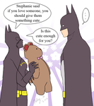 Love you, Daddy Bats by Colours07