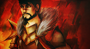 Dragon Age - Hawke by Ami-Fly