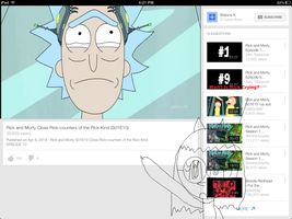 Rick Is Crying by Kanglovesme