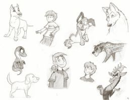 You Get A Sketch Dump... by wahyawolf