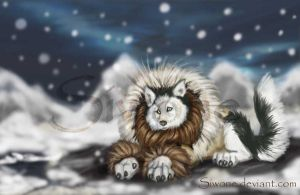 The inuit husky by siwone