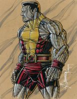 Commissioned Art COLOSSUS by artstudio