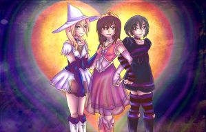 withch, doll and Princess by Ugh-first-aid