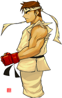 Random Ryu Colored by Rukunetsu