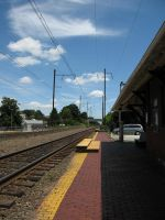 141.  Train Station by mynti-stock