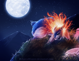 Typhlosion by RebeccaWeaver