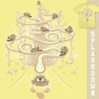 Splashdown - tee by InfinityWave