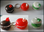 Porcelaine froide: Macarons by natsynchro