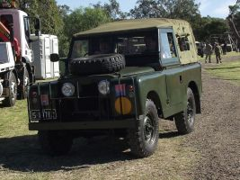 Land Rover on display 4 by RedtailFox