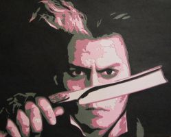 Sweeney Todd - The Demon Barber of Fleet Street by Papergizmo
