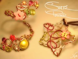Star power - cuff and pendant by colourful-blossom
