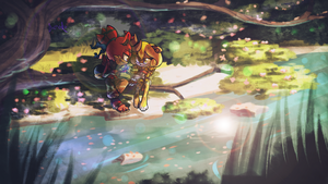 Contest Entry. Butterfly of wish by Deroko