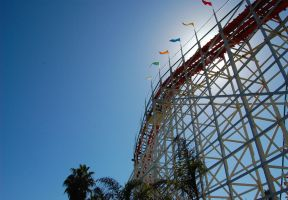 Roller coaster by ShannonCPhotography