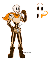 UnderSkulls Papyrus by Ghost-da-Stoner