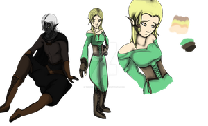 (CLOSED) Elves Adoptables by WizardyAdopts