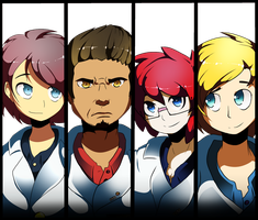 The Gang's All Here by AnArt1996