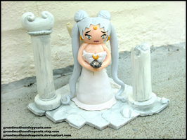 Queen Serenity Figure by GrandmaThunderpants
