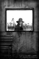 Hanna and the window by enasni
