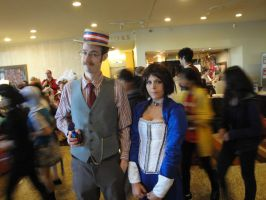 Anime North: Bioshock Infinite by Zachg56