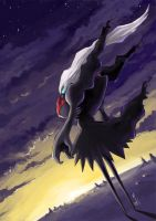 Darkrai the Guardian by Uniformshark