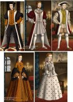 Tudor Rulers of England in the 1500s by TFfan234