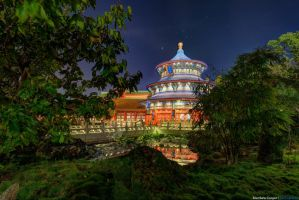 Hidden Temple of Heaven by shaderf