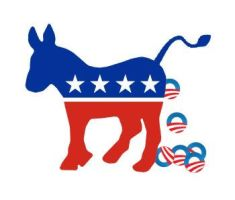 Improved Democrat Logo by Conservatoons